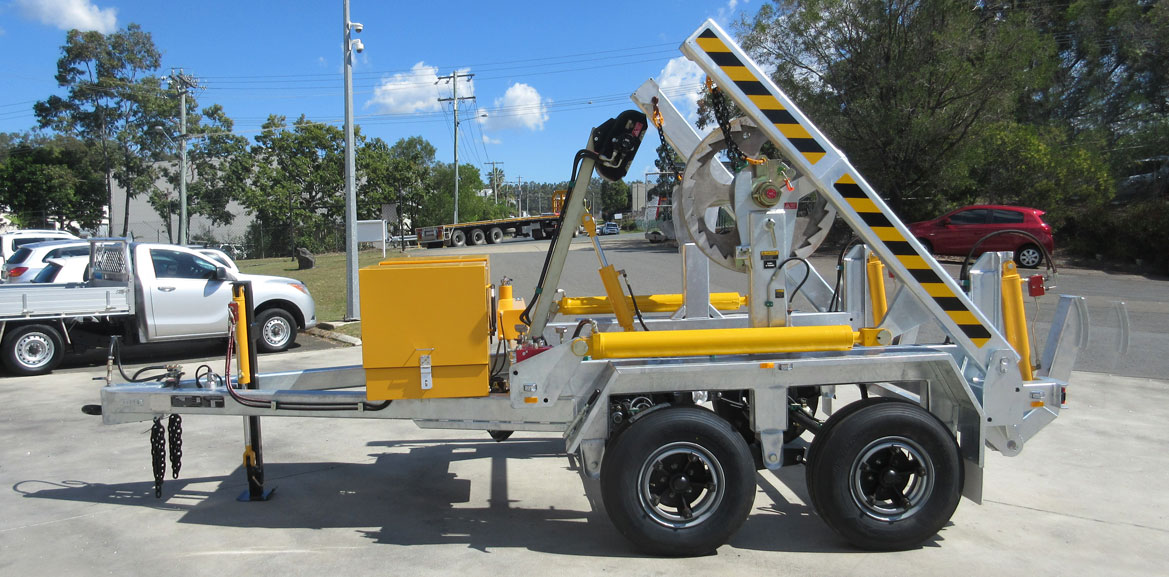6.0 Tonne Self Loading Cable Trailers