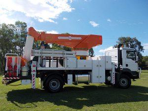 TF13M self propelled elevating work platforms