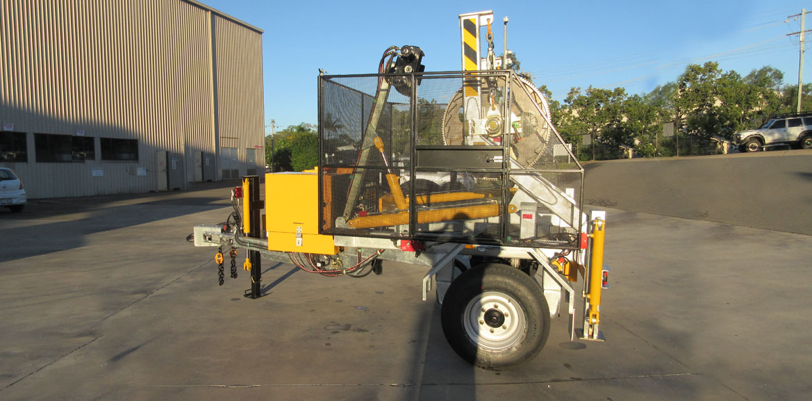 3.0 Tonne Self Loading Cable Trailers