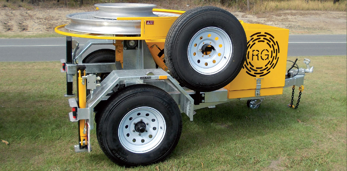 5kN Fibre Optic Trailer-Mounted Winch