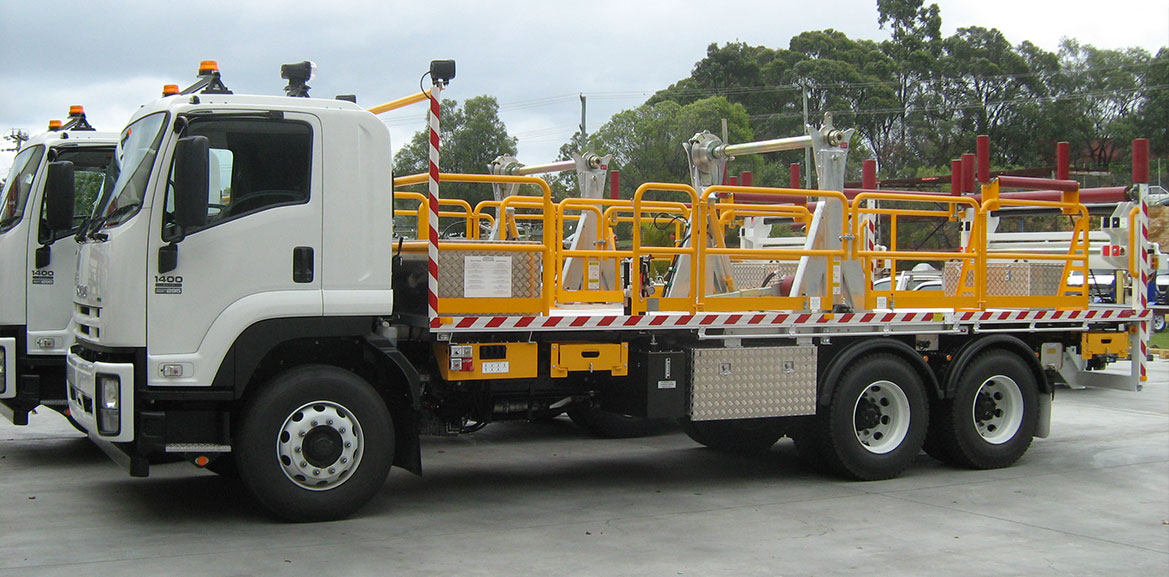 Cable Drum Transporter