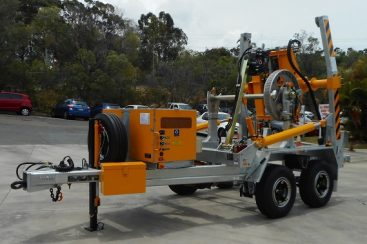 Jemena has taken Delivery of a 6t SLCT with Cable Pusher Attachment