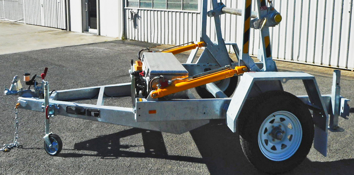 1.2 Tonne Cable Trailers