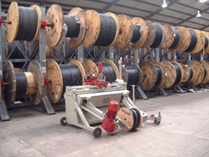 Life Cable Drum Racking System