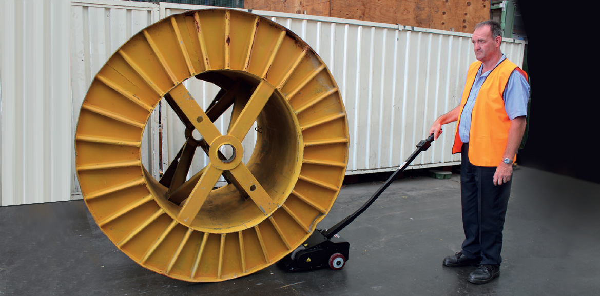 Warehouse Cable Drum Pusher