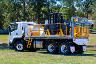 Energex Takes Delivery of Truck-Mounted 10kN 3-Drum Winch (October 2019)