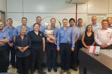 RGA Farewells Engineering Manager Iain Mitchelhill (December 2019)
