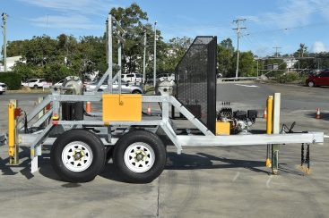 New Design ABC 2-Drum Dual Axle Cable Trailer (June 2020)