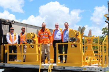 LAING O' ROURKE TAKES DELIVERY OF 2 DRUM 6T WINCH/TENSIONER (February 2021)